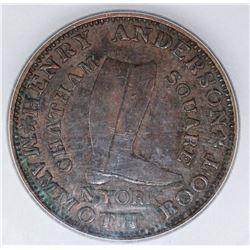 1837 HARD TIMES TOKEN