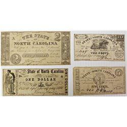 STATE OF NORTH CAROLINA CIVIL WAR NOTES: