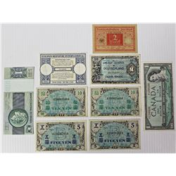GROUP LOT OF FOREIGN CURRENCY
