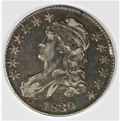 1830 BUST HALF DOLLAR