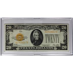 1928 $20.00 GOLD NOTE