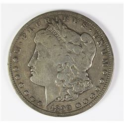 1890-CC MORGAN SILVER DOLLAR