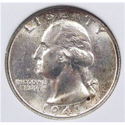 1941-S WASHINGTON QUARTER