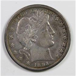 1894-O BARBER HALF DOLLAR