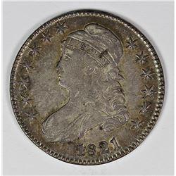 1821 BUST HALF DOLLAR