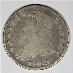 1809 BUST HALF DOLLAR