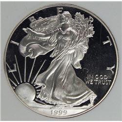 1999 AMERICAN SILVER EAGLE