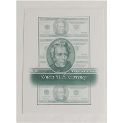 UNCUT SHEET OF FOUR 2006 $20.00