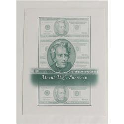 UNCUT SHEET OF FOUR 2006 $20.00