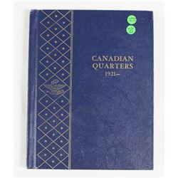 WOW! COMPLETE CANADA QUARTER SET 1921-1971: