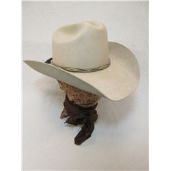 5X Stetson Hat- Big Sky Hats Darby MT- 6 7/8 Size- Horse Hair Hat Band- With Hard Case