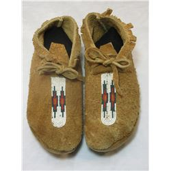 """Beaded SW Moccasins- 9.5""""L"""