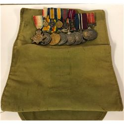 GR OF 13, BRITISH / CANADIAN MILITARY MEDALS