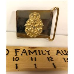 CANADIAN MILITARY BELT BUCKLE