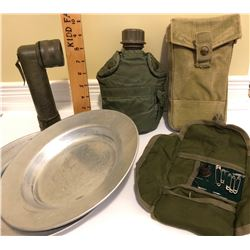 GR OF 6, MILITARY COLLECTIBLES
