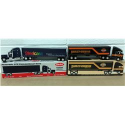 GR OF 2, DIE CAST TOY TRANSPORT TRUCKS - AS NEW