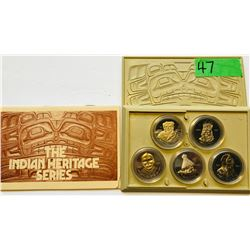 INDIAN HERITAGE COIN SET