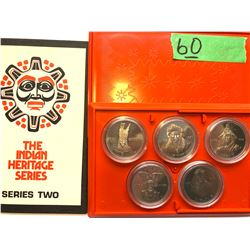 INDIAN HERITAGE SERIES TWO COIN SET