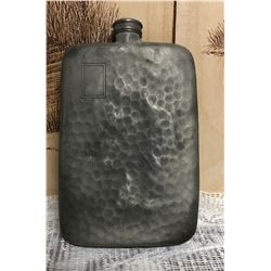 ANTIQUE SHEFFIELD FLASK