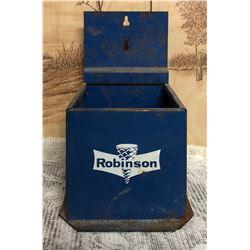 ROBINSON TIN ICE CREAM CONE DISPENSER