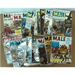 GR OF 21, MALE COMIC MAGAZINES