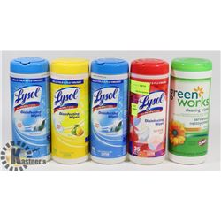 LOT OF NEW LYSOL DISINFECTING WIPES
