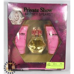 PRIVATE SHOW BRITNEY SPEARS 3 PC SET
