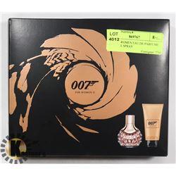007 FOR WOMEN EAU DE PARFUME NATURAL SPRAY