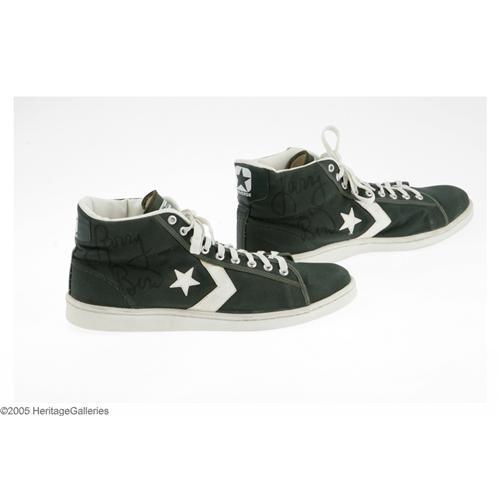 f900a5c78da Image 1   Early 1980s Larry Bird Game Worn Signed Sneakers Early 1980 s Larry  Bird Game ...