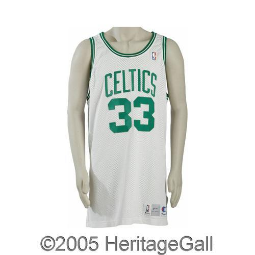263ea4de7b1 1991-92 Larry Bird Game Worn Jersey 1991-92 Larry Bird Game Worn ...