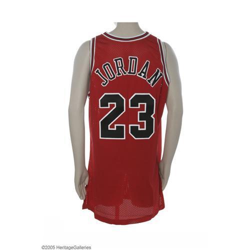 finest selection aa600 cbbe0 1996-97 Michael Jordan Finals Game Worn Jersey 1996-97 Michael Jordan  N.B.A. Finals Game Worn Jersey