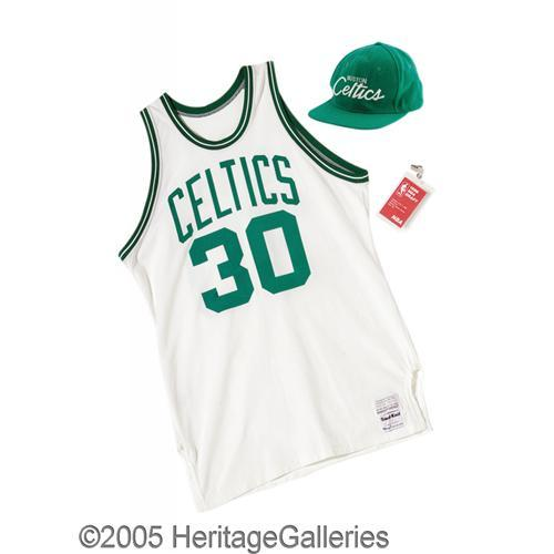new arrival dcebd d0a3d 1986 Len Bias Draft Day Worn Suit Celtics Jersey 1986 Len Bias Draft Day  Worn Suit & Presentational
