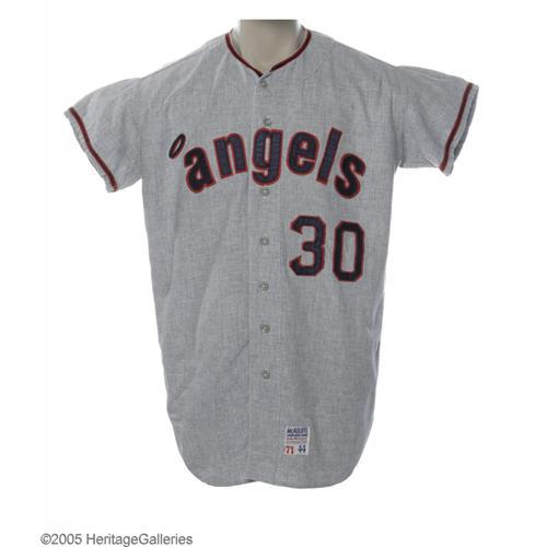 best loved 170a3 19d2d 1971 Nolan Ryan Game Worn Jersey 1971 California Angels Game Worn Jersey  Attributed to Nolan Ryan.