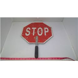 HAND HELD SLOW & STOP SIGN