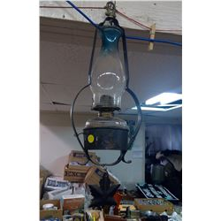 COAL OIL LAMP WITH HANGER