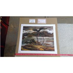 """BENT PINE BY A.Y. JACKSON (20"""" X 24"""" UNFRAMED REPRODUCTION)"""