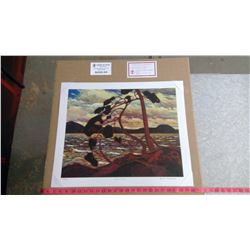 """WEST WIND BY TOM THOMSON (20"""" X 24"""" UNFRAMED REPRODUCTION)"""