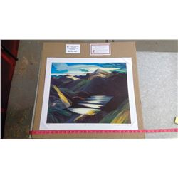 """LIGHT AND SHADOW BY FRANKLIN CARMICHAEL (20"""" X 24"""" UNFRAMED REPRODUCTION)"""