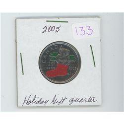 2005 Holiday gift quarter