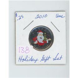 2010 Holiday gift set quarter