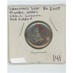 2007 Canadian Quarter (2010 Vancouver Wheelchair curling)