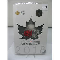 2018 ARMISTICE CANADIAN COIN SET