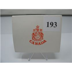 1972 CANADIAN CASED SILVER DOLLAR