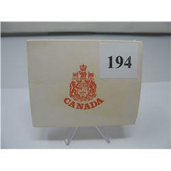 1973 CANADIAN CASED SILVER DOLLAR