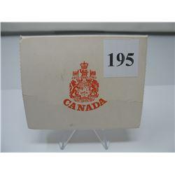 1975 CANADIAN CASED SILVER DOLLAR