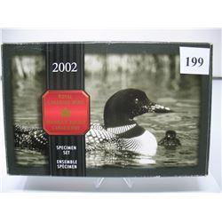 2002 CANADIAN SPECIMEN SET
