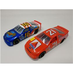"LOT OF TWO MODEL RACING CARS 7.5""L"