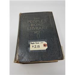 VINTAGE BOOK 1917 PEOPLE'S HOME LIBRARY
