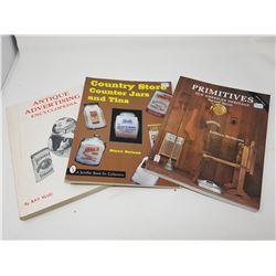 BOOKS ON ANTIQUES & COLLECTIBLES