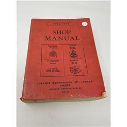 1953-1954 CHRYSLER SHOP MANUAL